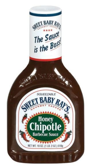 BBQ Sauce, Sweet Baby Ray's® Honey Chipotle BBQ Sauce (18 oz Bottle)