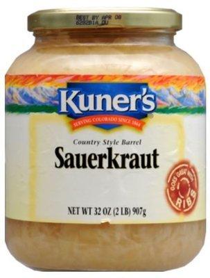 Sauerkraut, Kuner's® Sauerkraut (32 oz Jar)