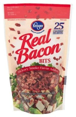Bacon Bits, Kroger® Real Bacon Bits (3 oz Bag)