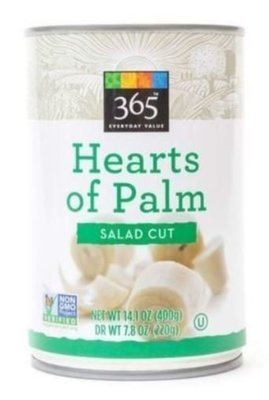 Canned Palm, 365® Salad Cut Hearts of Palm (14.1 oz Can)