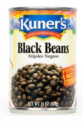 Canned Beans, Kuner's® Black Beans (15 oz Can)