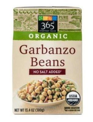 Canned Garbanzo Beans, 365® Organic
