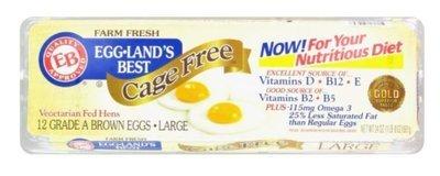 Dairy Eggs, Eggland's Best® Cage Free Brown Eggs (1 Dozen-12 Eggs)
