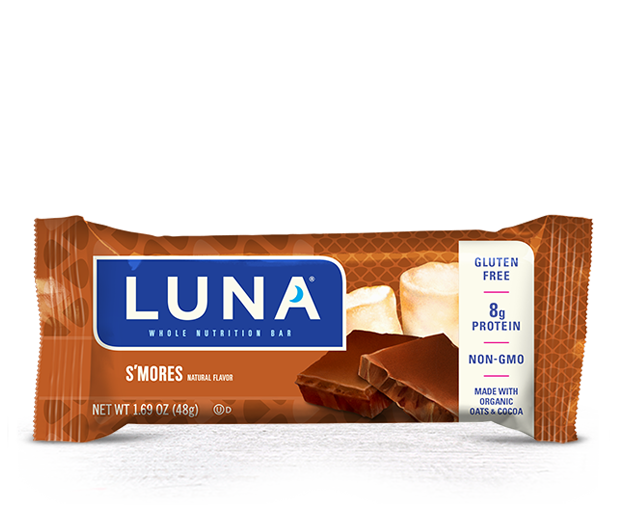 Energy Bars, Luna® S'Mores Bar (1.69  oz Bag)