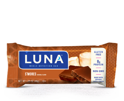 Energy Bars, Luna® S'Mores Bar (1.69  oz Bag)