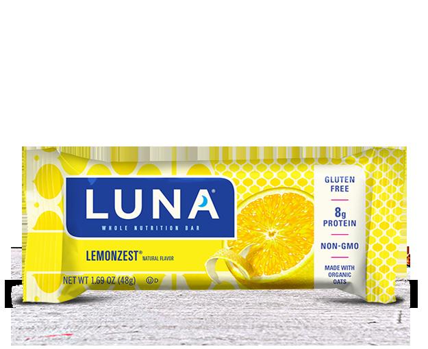 Energy Bars, Luna® Lemon Zest Bar (1.69  oz Bag)