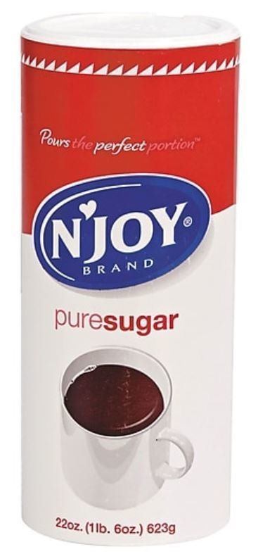 Sugar, N'Joy® Granulated Sugar (22 oz Canister)