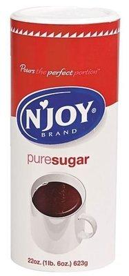 Sugar, N'Joy® Granulated Sugar (22 oz Canister)