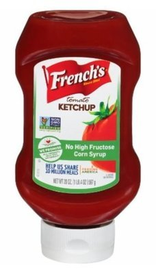 Ketchup, French's® Tomato Ketchup (20 oz Bottle)