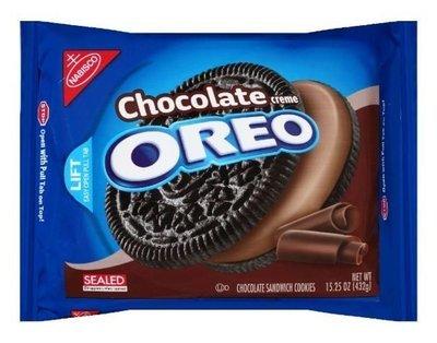 Sandwich Cookies, Nabisco® Oreo Chocolate® Sandwich Cookies (15.25 oz Bag)