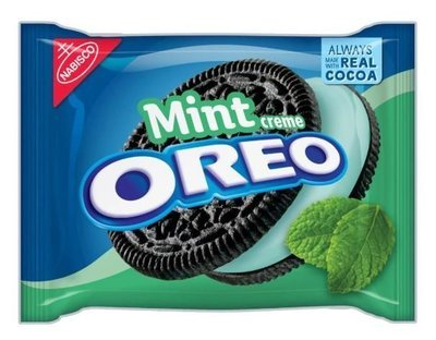 Sandwich Cookies, Nabisco® Oreo Mint® Sandwich Cookies (15.25 oz Bag)