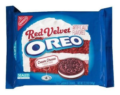 Sandwich Cookies, Nabisco® Oreo Red Velvet® Sandwich Cookies (12.2 oz Bag)