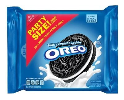 Sandwich Cookies, Nabisco® Oreo® Sandwich Cookies (Party Size, 25.5 oz Bag)