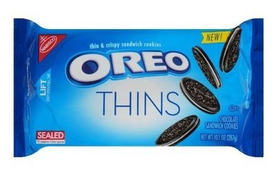 Sandwich Cookies, Nabisco® Oreo Thins® Sandwich Cookies (10.1 oz Bag)
