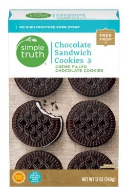 Sandwich Cookies, Simple Truth™ Chocolate Sandwich Cookies (12 oz Box)