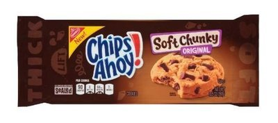 Cookies, Nabisco® Chips Ahoy® Soft Chunky Cookies (10.5 oz Bag)