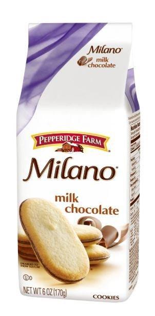 Cookies, Pepperidge Farm® Milano™ Milk Chocolate Cookies (6 oz Bag)