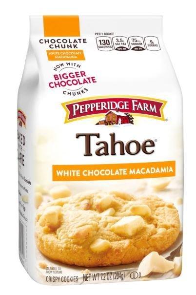 Cookies, Pepperidge Farm® Tahoe™ White Macadamia Cookies (7.2 oz Bag)