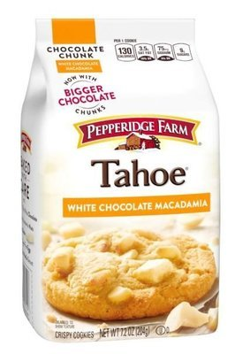 Cookies, Pepperidge Farm® Tahoe™ White Macadamia Cookies (7.2 oz Bag)