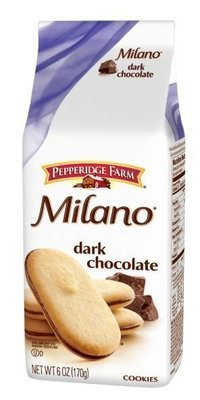 Cookies, Pepperidge Farm® Milano™ Dark Chocolate Cookies (6 oz Bag)