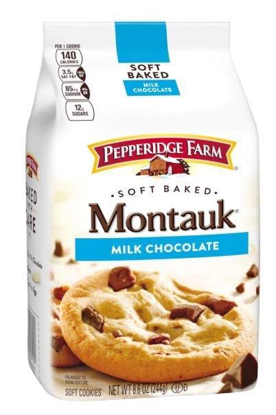 Cookies, Pepperidge Farm® Montauk™ Soft Baked Milk Chocolate Cookies (8.6 oz Bag)