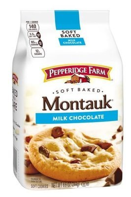Cookies, Pepperidge Farm® Montauk™ Soft Baked Milk Chocolate Cookies (8.6 oz Bag)