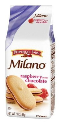 Cookies, Pepperidge Farm® Milano™ Raspberry Chocolate Cookies (7 oz Bag)