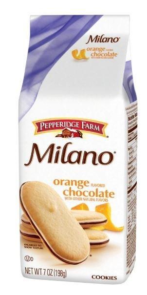 Cookies, Pepperidge Farm® Milano™ Orange Chocolate Cookies (7 oz Bag)