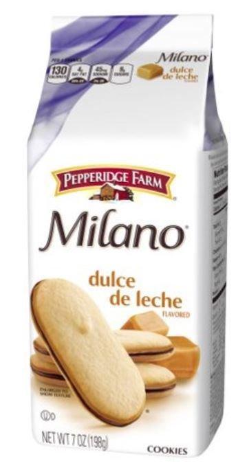 Cookies, Pepperidge Farm® Milano™ Dulce De Leche Cookies (7 oz Bag)