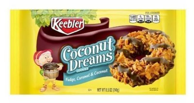 Cookies, Kellogg's® Keebler® Coconut Dreams® Cookies (8.5 oz Bag