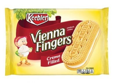Cookies, Kellogg's® Keebler® Vienna Fingers® Creme Filled (14.2 oz Bag)