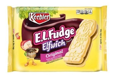 Cookies, Kellogg's® Keebler® E.L. Fudge Elfwich® Cookies (13.6 oz Bag)