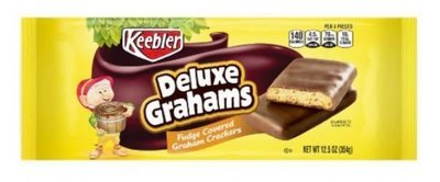 Cookies, Kellogg's® Keebler® Deluxe Grahams®Cookies (12.5 oz Bag)