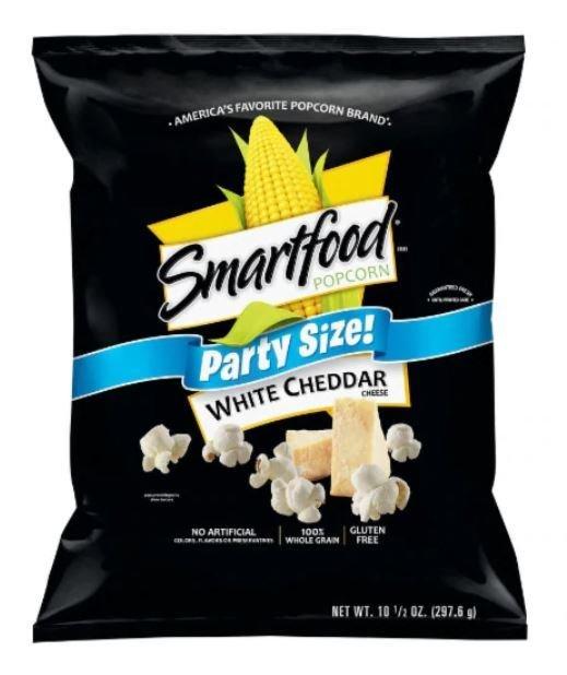 Popcorn, Smartfood® White Cheddar Popcorn (Party Size, 10.5 oz Bag)