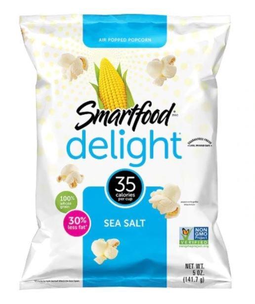 Popcorn, Smartfood® Delight™ Sea Salt Popcorn (5 oz Bag)