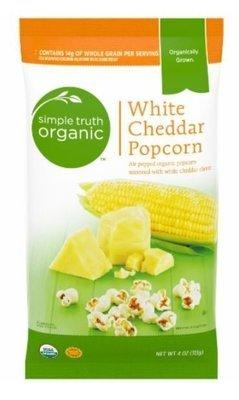 Popcorn, Simple Truth Organic™ White Cheddar Popcorn (4 oz Bag)