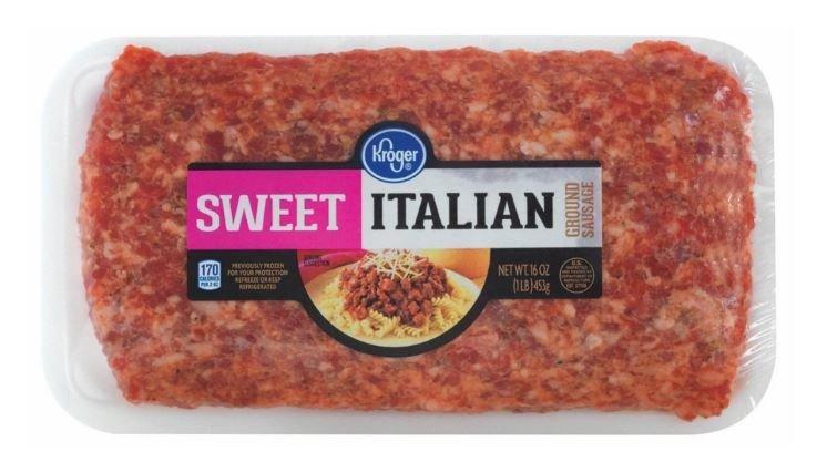 Fresh Italian Sausage, Kroger® Sweet Ground Italian Sausage (16 oz Tray)
