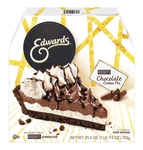 Pie, Edwards® Hershey's Chocolate Crème Pie (25.5 oz Box)