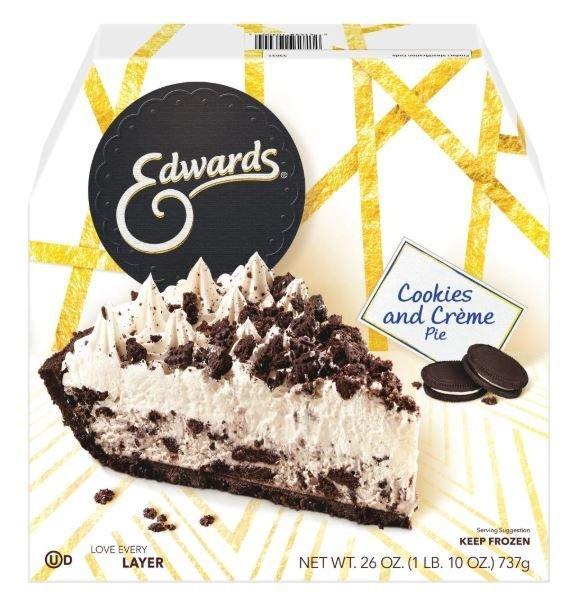 Pie, Edwards® Cookies and Crème Pie (26 oz Box)