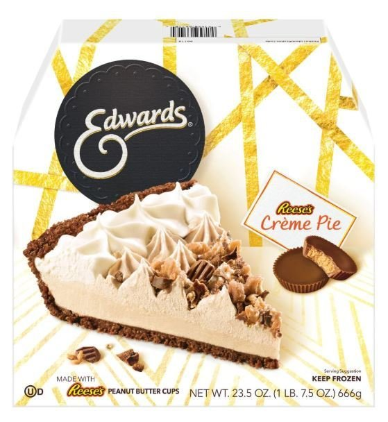 Pie, Edwards® Reese's® Crème Pie (23.5 oz Box)