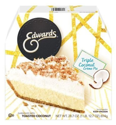 Pie, Edwards® Triple Coconut Crème Pie (28.7 oz Box)
