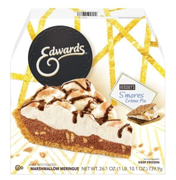 Pie, Edwards® Hershey's S'mores Creme Pie (26.1 oz Box)