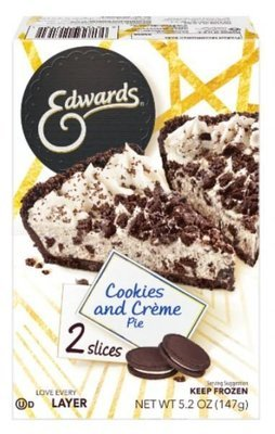 2 Pie Slices, Edwards® Cookies and Crème Pie (Two Slice Pack, 5.2 oz Box)
