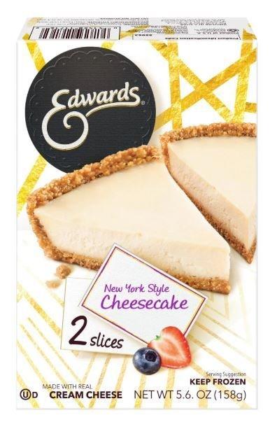 2 Pie Slices, Edwards® New York Style Cheesecake (Two 2.8 oz Slices)