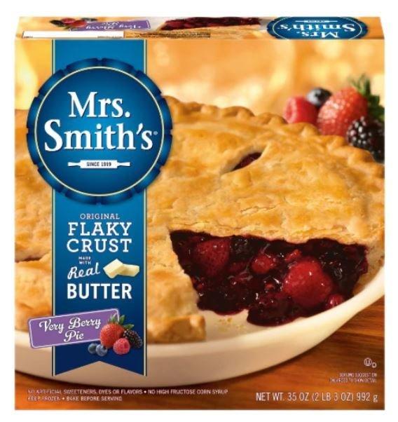 Pie, Mrs. Smith's® Very Berry Pie (35 oz Box)