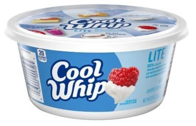 Whipped Cream, Cool Whip® Lite Whipped Topping (8 oz Tub)