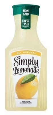 Juice Drink, Simply Lemonade® Lemonade (52 oz Bottle)