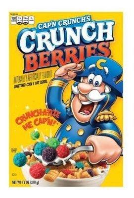 Cereal, Quaker Oats® Cap'n Crunch® Berries Cereal (13 oz Box)