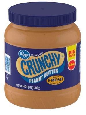 Peanut Butter, Kroger® Crunchy Peanut Butter (64 oz Jar)