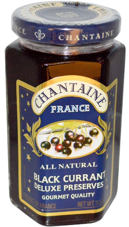 Fruit Spread, Chantaine® Black Currant Deluxe Preserves (11.5 oz Jar)